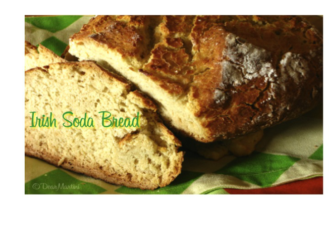 irish soda bread for blog