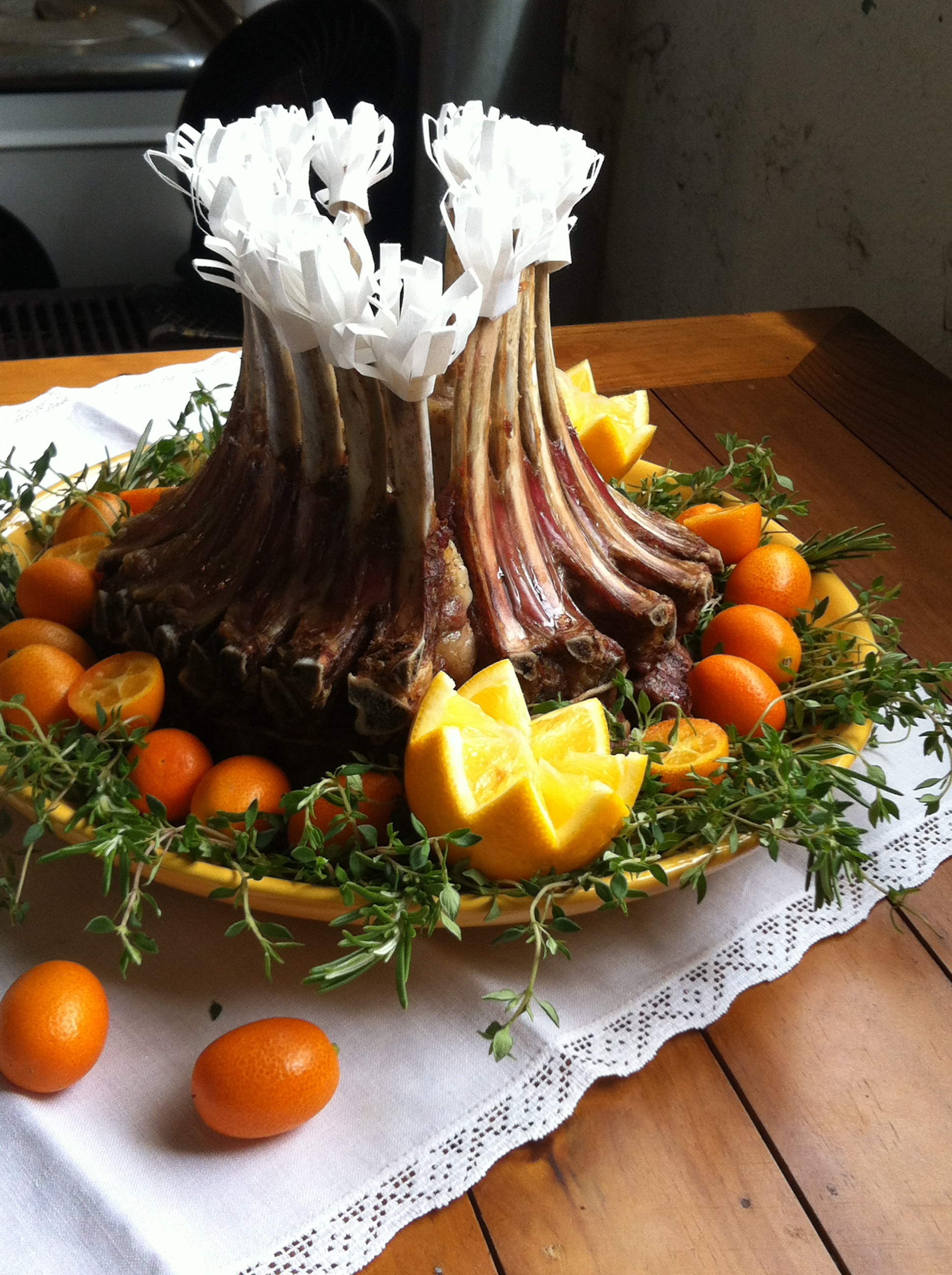 Crown Roast Of Lamb With Fresh Herbs Recipes — Dishmaps