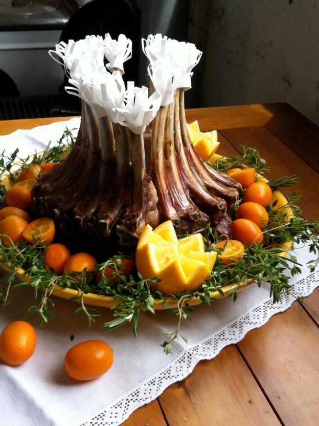 Crown roast of lamb | Dear Martini
