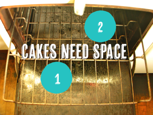 Cakes Need Space