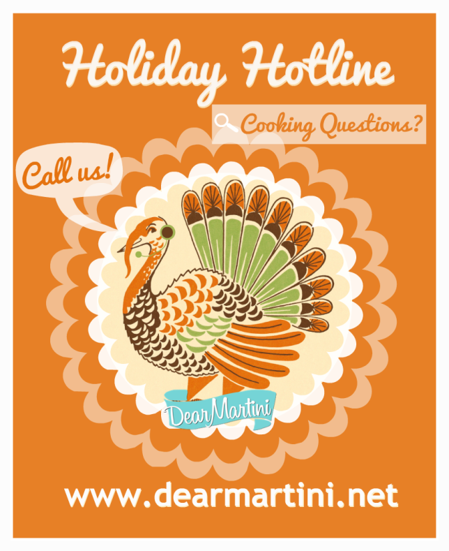 Dear Martini Holiday Hotline