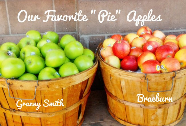 Our favorite pie apples