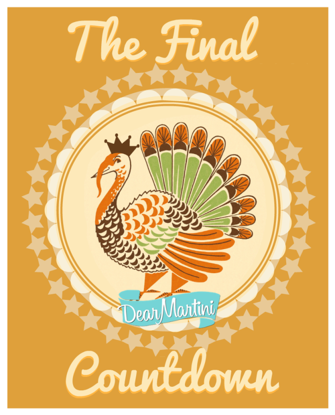Tips to preparing for thanksgiving | via www.dearmartini.wordpress.com