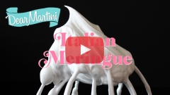 Dear Martini How to Make Italian Meringue Video