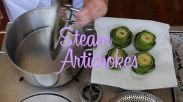 steam artichokes