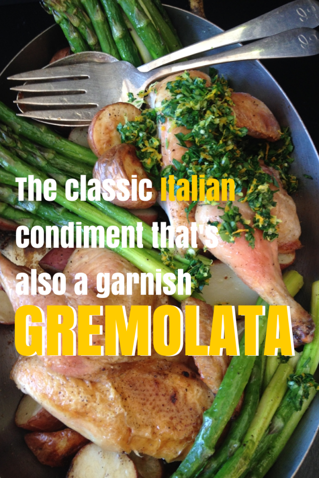 How to Make Gremolata via Dear Martini