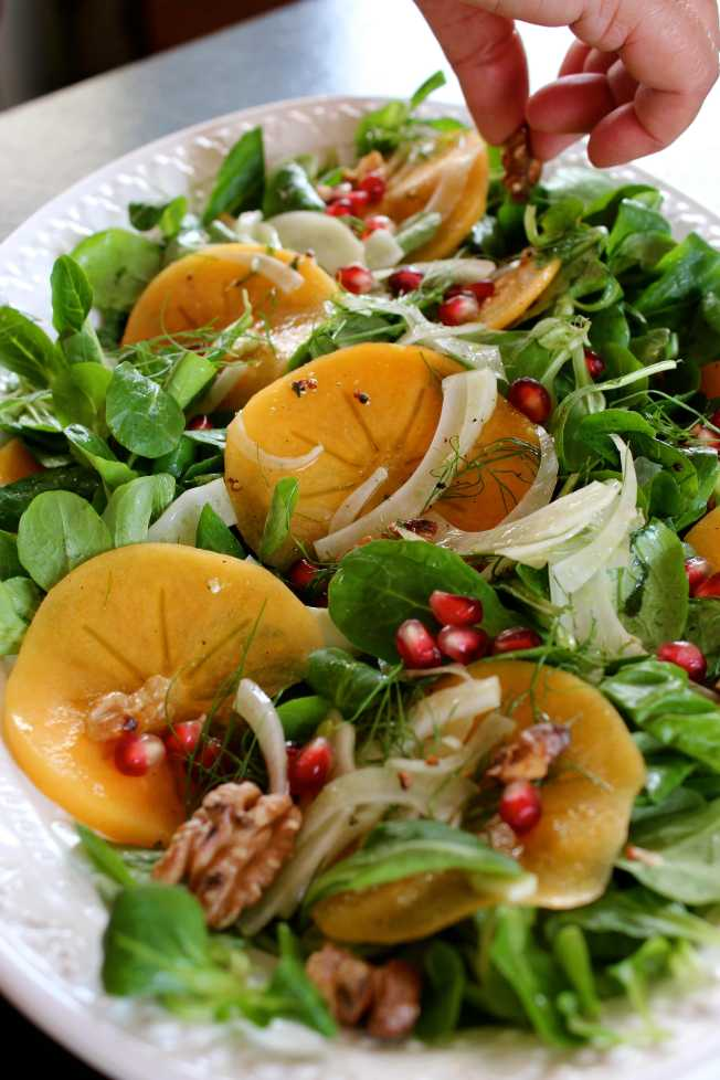 Persimmon and Fennel Salad | Dear Martini