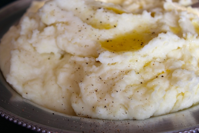 Creme Fraiche Mashed Potatoes | Dear Martini