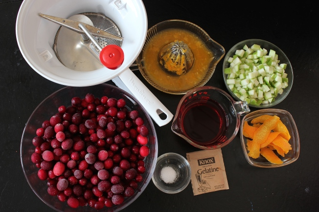 Ingredients for Cranberry Sauce | Dear Martini